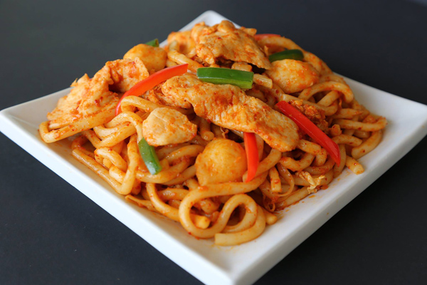 Kaiju also has a large selection of Pan-Asian food.