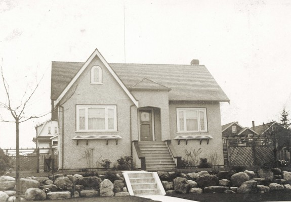 Our home, 2690 Cambridge St. Vancouver, approx. 1931.