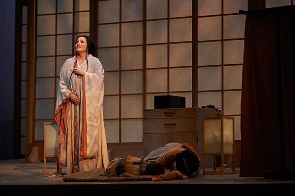 Patricia Recette seen here as Cio-Cio, the tragic figure at the centre of Madama Butterfly. Photo courtesy: Canadian Opera Company