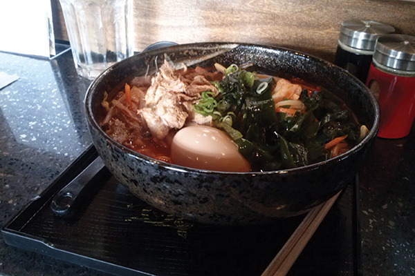 One thing I discovered, Vancouver's ramen game is pretty damn strong.