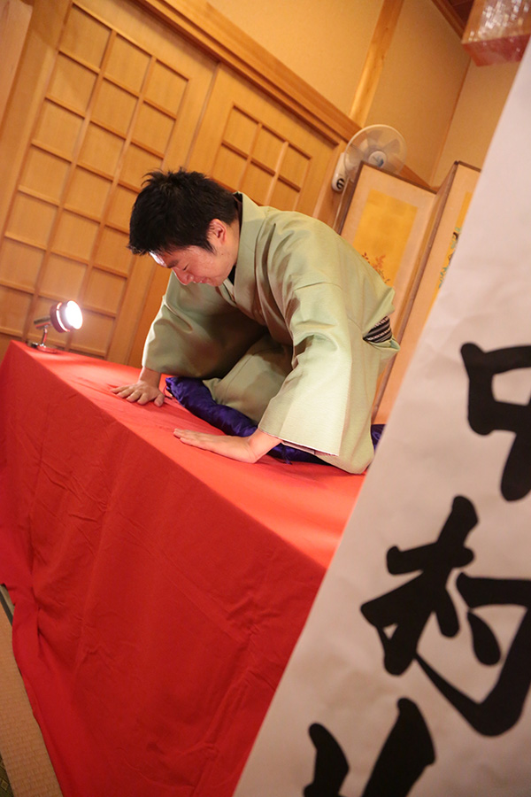 Sansho-Nakamura performing. Photo courtesy: Sansho-Nakamura