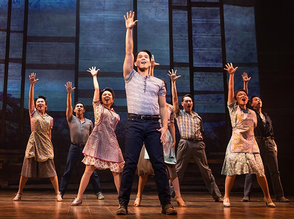 Young and veteran actors come together in this stage show to talk about the Interment and examine what happened to Japanese Americans. Photo courtesy: Allegiance
