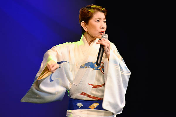 Kiyoko Suizenji performing at the Japanese Canadian Cultural Centre. Photo courtesy: David Ohashi