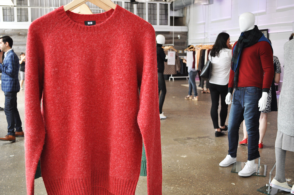 UNIQLO Men's Red Sweater. jpg