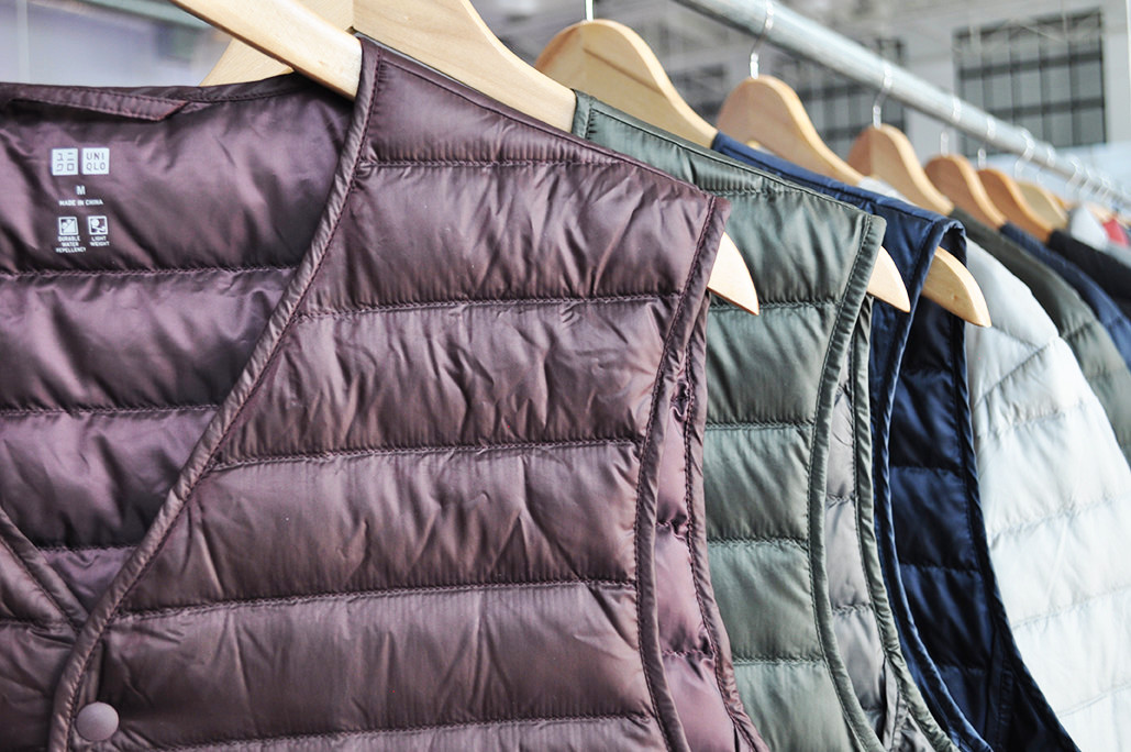 UNIQLO Ultra Light Down Vests