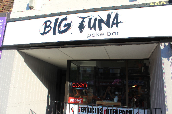 Big Tuna Poke Bar (599 Bloor St W) is home of the latest trend in Japan-inspired food. Photo by: Matthew O'Mara