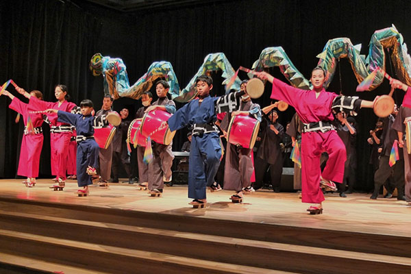 Osaka eisa dancers research Japanese Canadian history for their performances