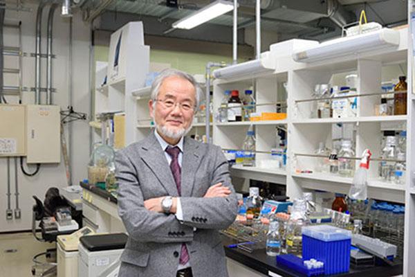 Japanese scientist wins Nobel Prize in Medicine
