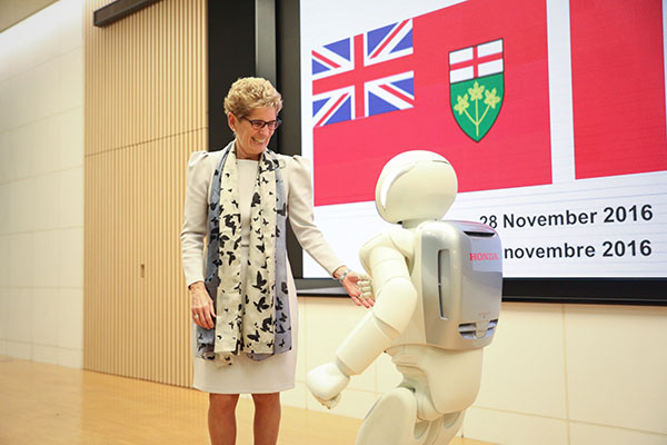 Ontario Premier Kathleen Wynne talks trade mission to Japan and growing up around the JCCC