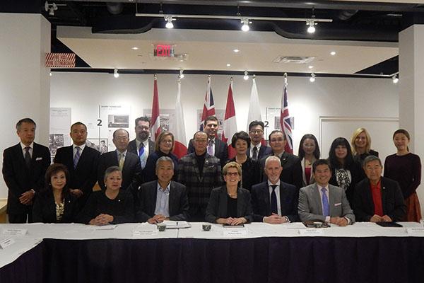 Ontario Premier Kathleen Wynne Visits Japanese Canadian Cultural Centre