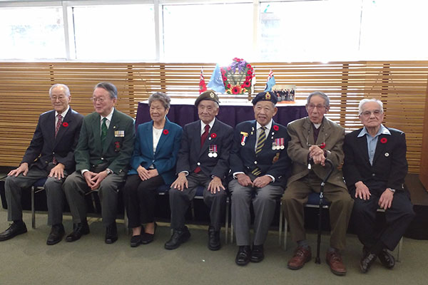 Nikkei Veterans Remembrance Day Service