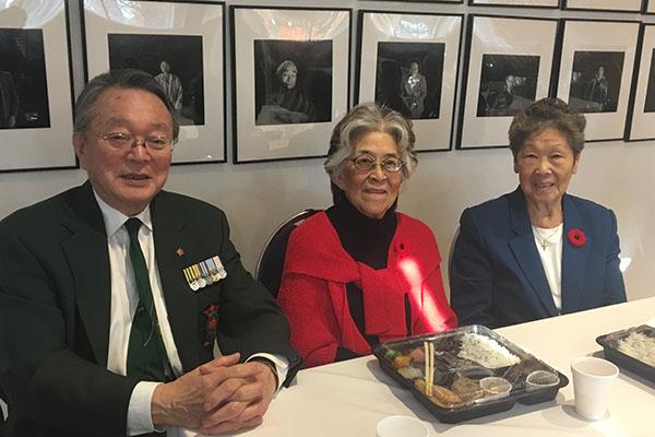 Tak Irizawa, Kazue Irizawa and Shizue Kobayashi