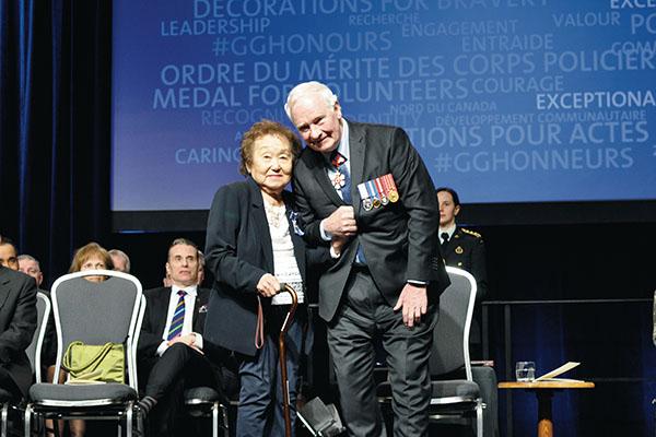 Recognizing legacies: Pat Adachi receives Meritorious Service Award