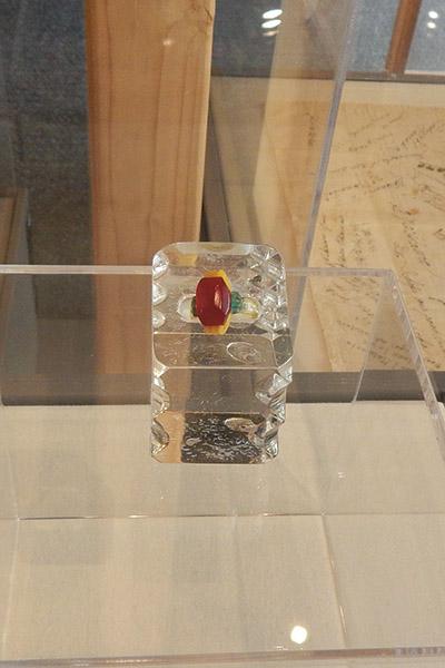 Sam Nishimura's ring