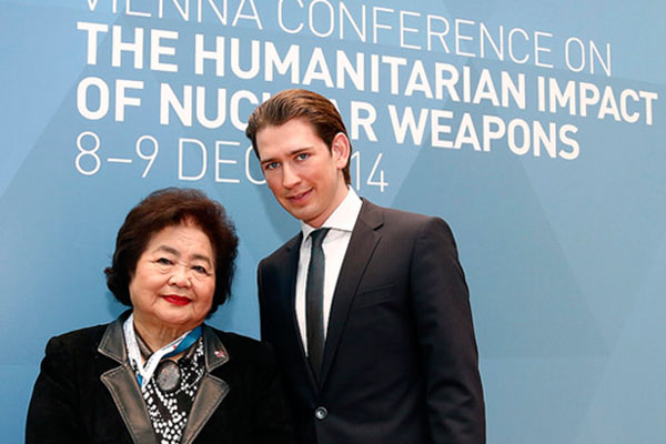 Hiroshima survivor Setsuko Thurlow awarded major peace award