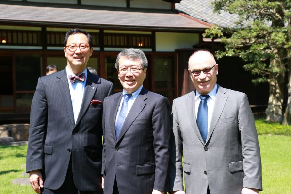 UBC President Ono signs partnership with UTokyo