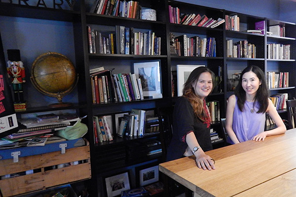 Runs in the family: Alex Shimo and Leslie Shimotakahara, authors and cousins
