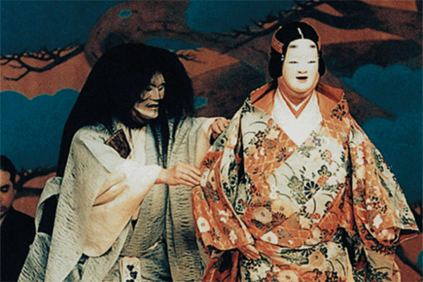 East meets West on the stage in 'Kayoi Komachi/Komachi Visited'