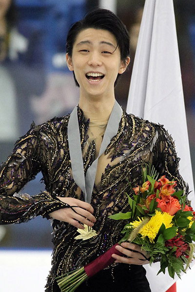Hanyu wins gold