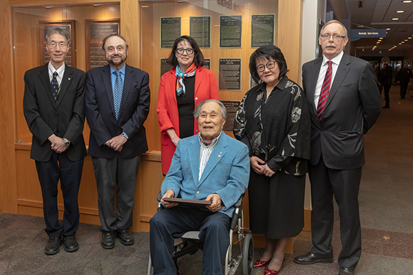 Dr. Juhn Wada inducted into Hall of Honour