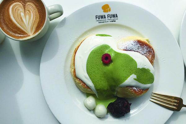 Fuwa Fuwa Pancakes: Fluffy, fluffy pancakes