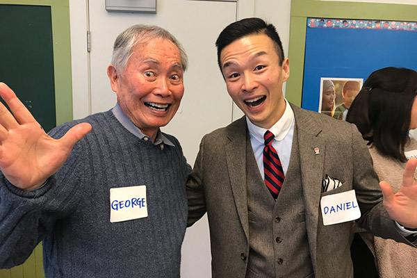 Oh my! American actor and activist George Takei visits Vancouver