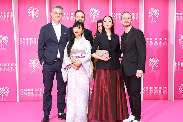 Actress Miho Suzuki's new webseries premieres in Cannes, France