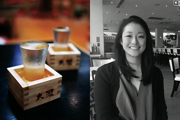 Mariko Tajiri educates Canadians on the evolving world of sake
