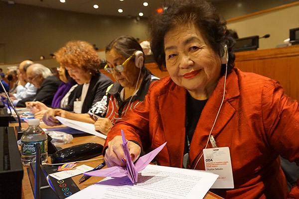 Hiroshima 75 years later: An interview with survivor Setsuko Thurlow