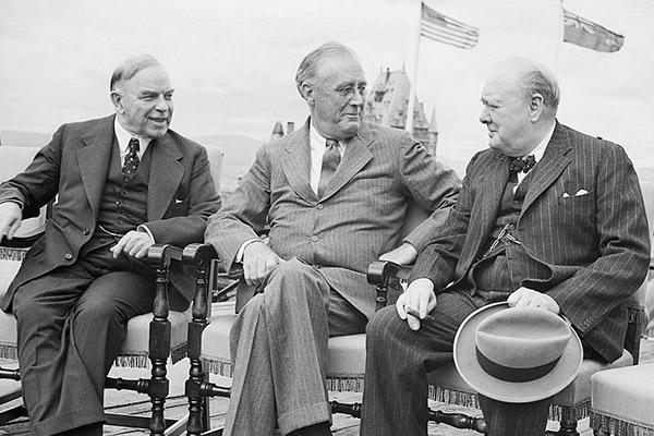 Mackenzie King opens the atomic Pandora's box
